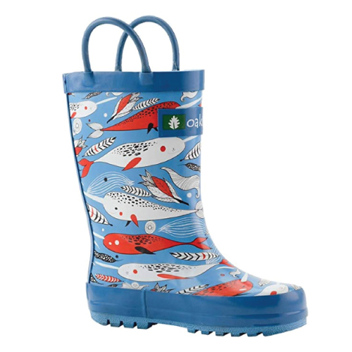 Narwhal Rubber Rain Boots