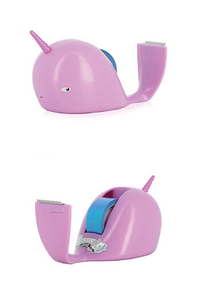 narwhal-lover-gifts Narwhal Tape Dispenser