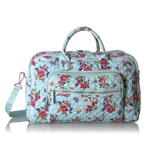 Vera Bradley Iconic Compact Weekender Travel Bag