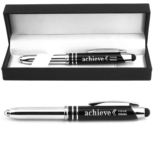 Achieve Your Dreams Engraved Gift Pen