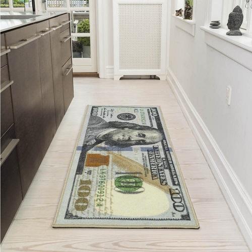 Dollar Bill Rug