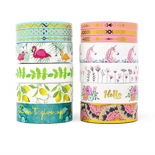 2-in-1 Premium Washi Tape Set by Miss Pettigrew
