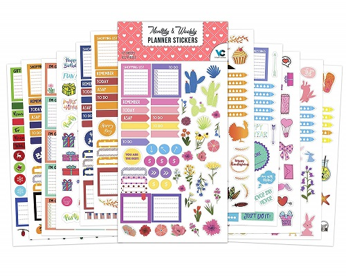 Vladi Creative Planner Stickers