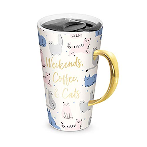 Cat Quote Travel Mug | Cat Coffee Mugs