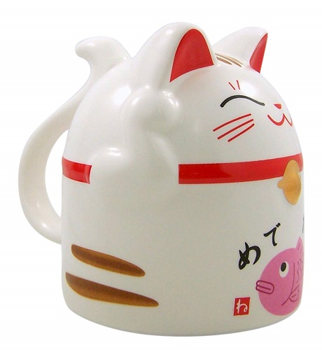 Japanese Maneki Neko Lucky Cat Mug | Cat Coffee