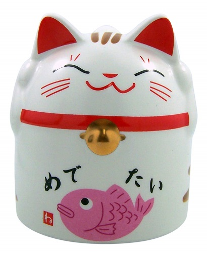 Japanese Maneki Neko Lucky Cat Mug | Cat Mugs
