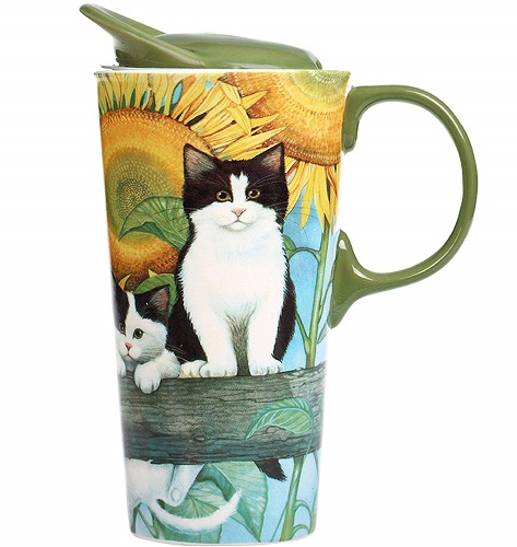 Kitties Travel Ceramic Mug | Cat Lover Mugs