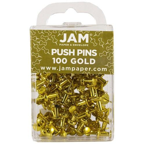 JAM PAPER Push Pins