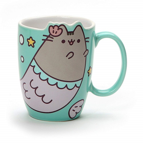 Pusheen Mermaid Cat Mug | Cat Coffee Mugs