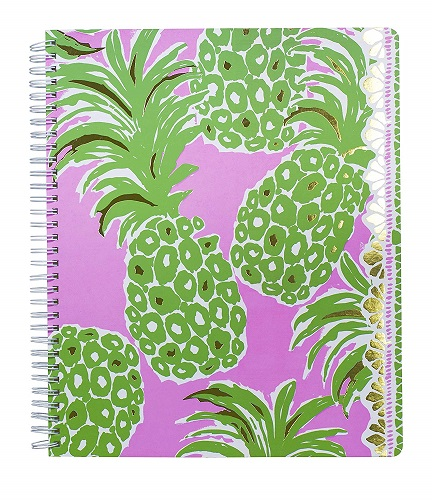 Lilly Pulitzer Large College Ruled Notebook