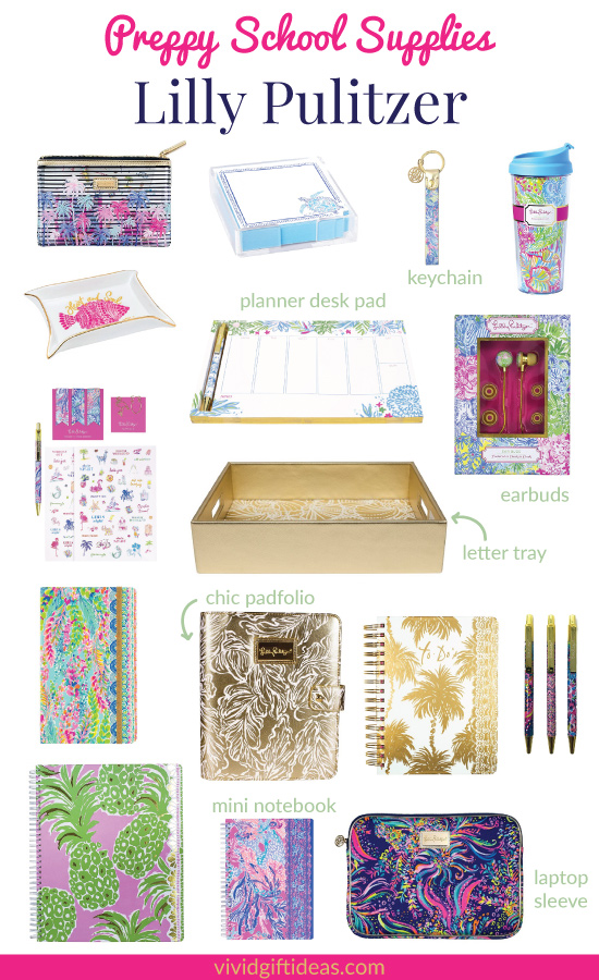 Lilly Pulitzer Stationery & School Supplies