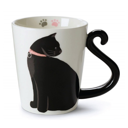 Black Cat Mug  | Cat Coffee Mugs