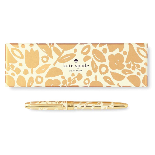 Kate Spade New York Golden Floral Pen