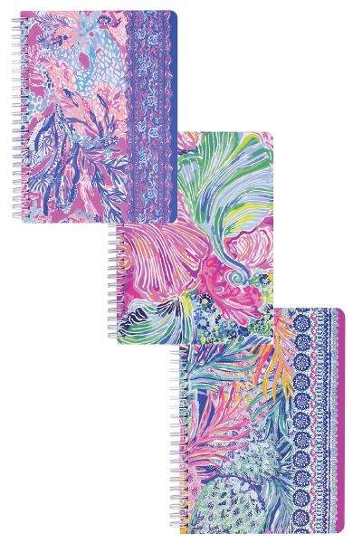 Lilly Pulitzer Mini Spiral Notebook Set