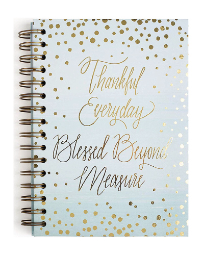 Thankful Quote Hardcover Journal