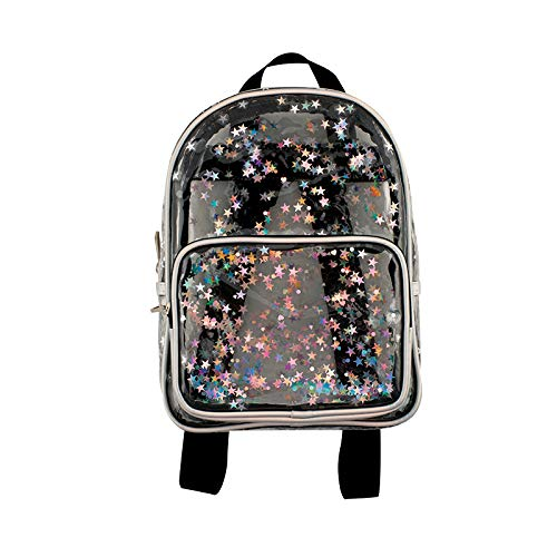 cute-mini-backpacks Transparent Star Mini Backpack