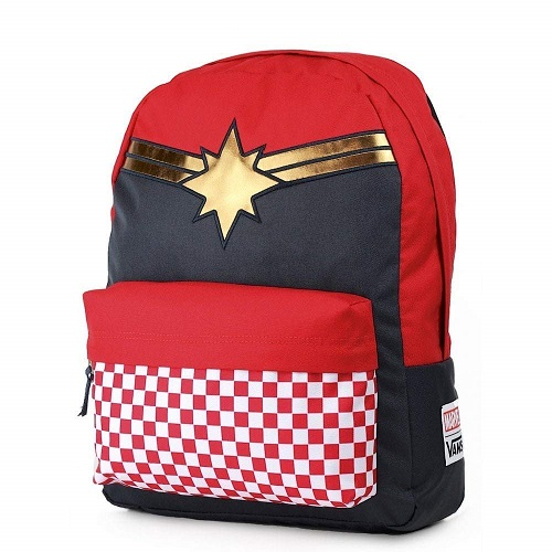 The Avengers Fans Middle School Vans Captain Marvel Bag