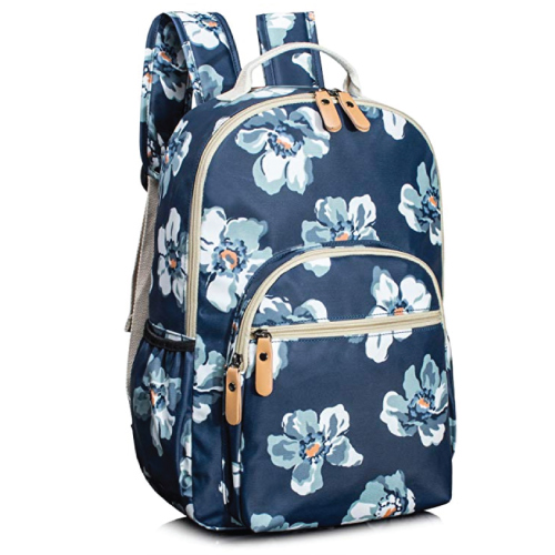 Leaper Floral School Backpack