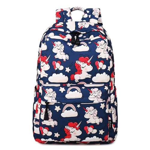Abshoo Cute Unicorn Bookbag Elementary Middle School Girls