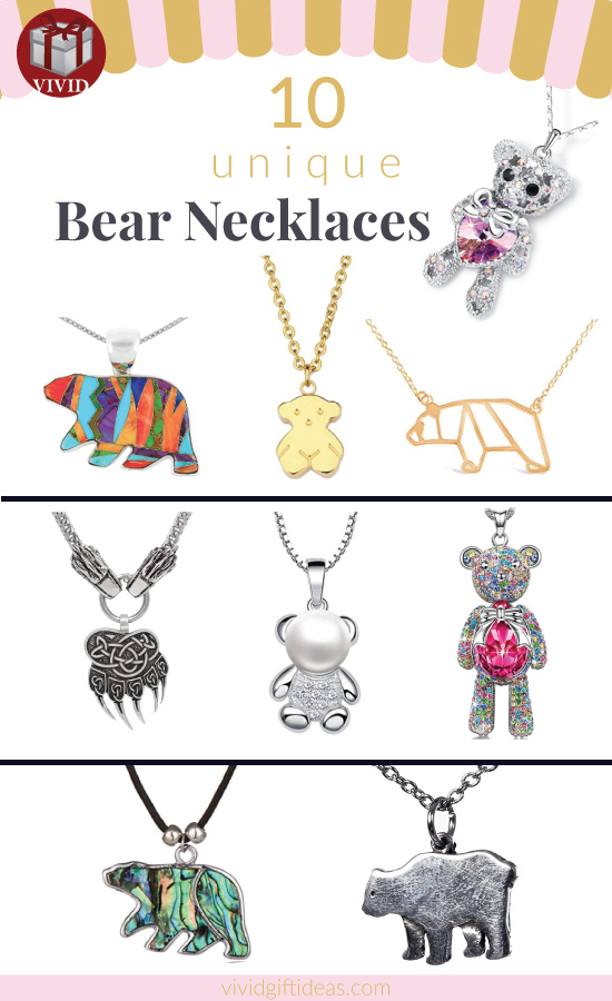 10 Bear Necklaces - Find Your Bear Necklace Here