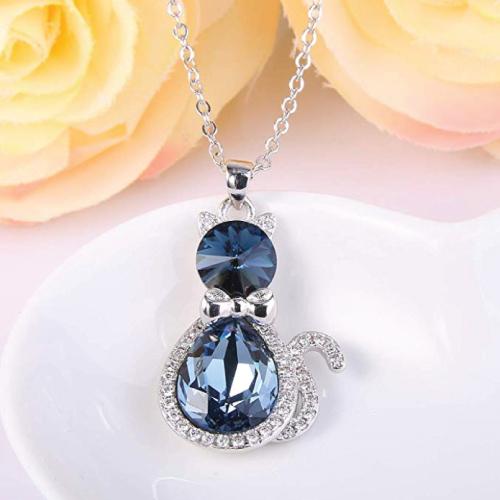 EleQueen Swarovski Crystals Teardrop Ca