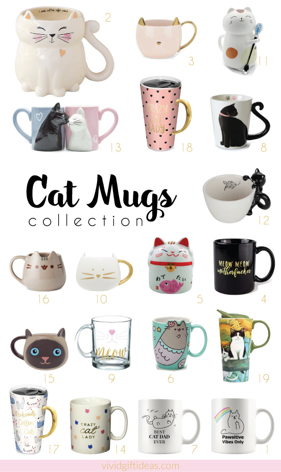Cat Mug Collection | Cat Coffee Mugs