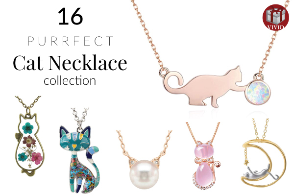 88b8a8f55b 16 Cat Necklaces – Cat Necklace Collection