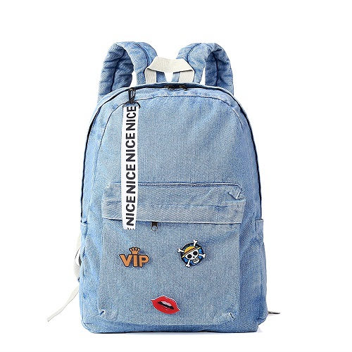 zijie Denim Backpack