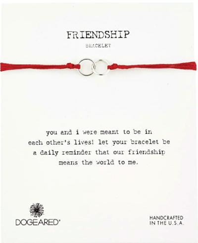 Dogeared Modern Wrist Friendship Bracelet