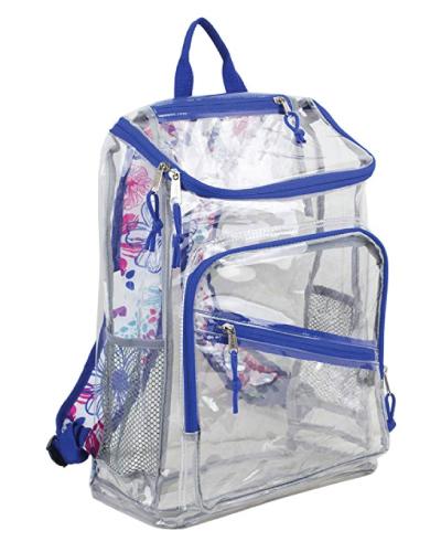 Eastsport Clear Top Loader Backpack Cute