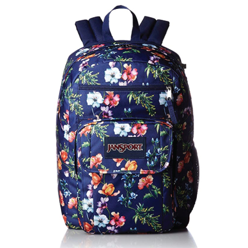JanSport Digital Student Laptop Backpack (Cute, Floral, Stylish)