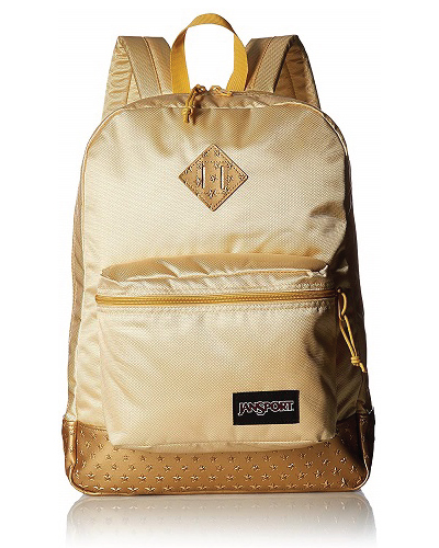 JanSport Gold Stars Super FX Backpack Glamorous Bag