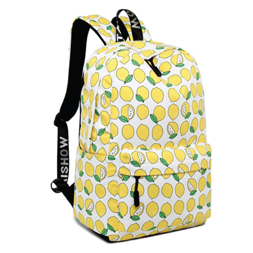 Leaper Casual Laptop Backpacks - Lemon Design