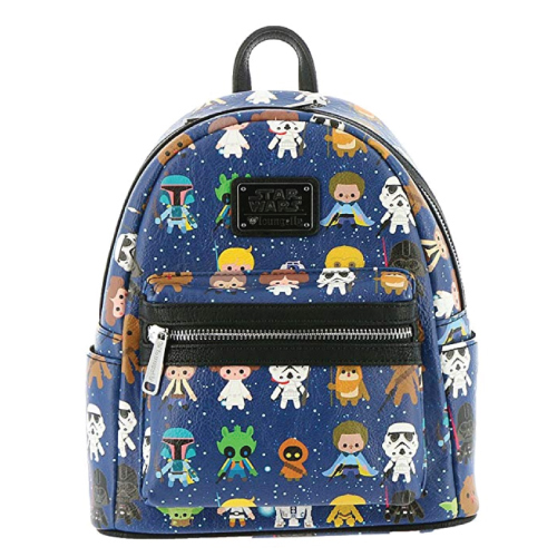 cute-mini-backpacks Loungefly Star Wars Baby Character Print Mini Backpack