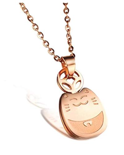 Maneki-neko Lucky cat Necklace