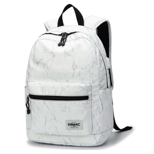 Kinmac Marble Laptop Backpackmarble-school-supplies