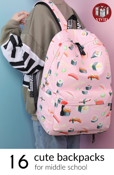 16 Cute Middle School Backpacks - Cool Back to School Book