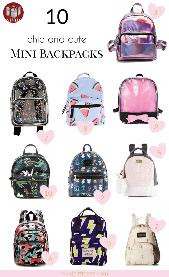 Chic and Cute Mini Backpack