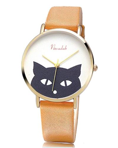 Novadab Cat Face Wristwatch