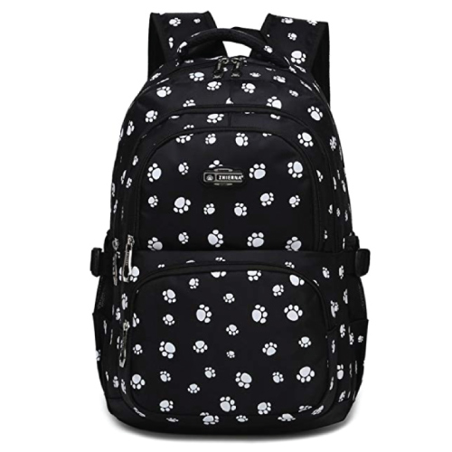 Paw Print Backpack