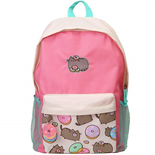 Pusheen Cat with Donuts Backpack