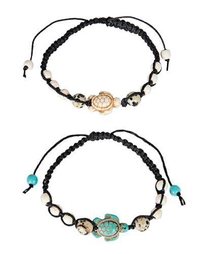SPUNKYsoul Turtle Bracelet Set