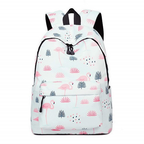 Teecho Waterproof Flamingo Backpack boys