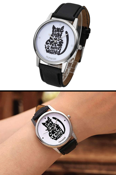 Cat Quote Wrist Watch