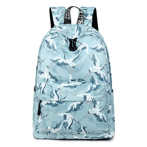 TOPERIN Oriental Birds School Bookbag