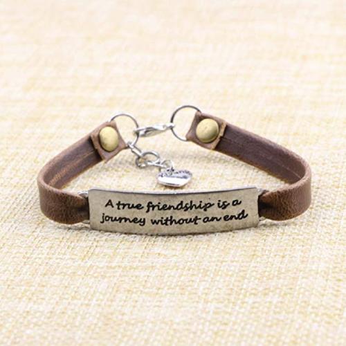 Leather Inspirational Bracelets