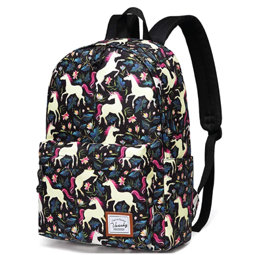 VASCHY Unicorn Backpack Cute Bag for Teenagers