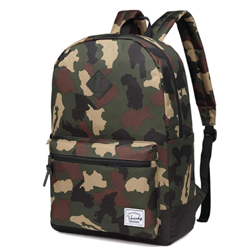 Cool Vaschy Classic School Backpack