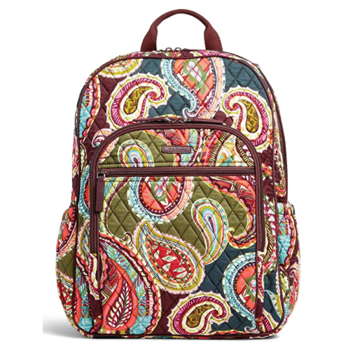Vera Bradley Colorful Campus Tech Girl's Backpack