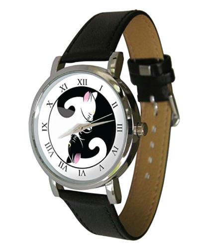 Yin Yang Cats Watch